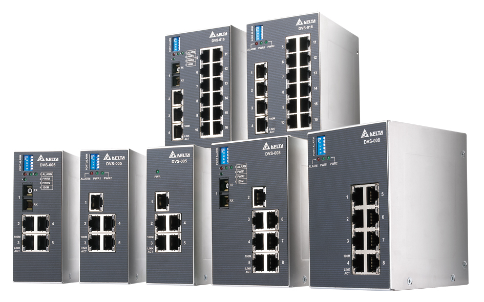 Industrial Ethernet Switches - DVS